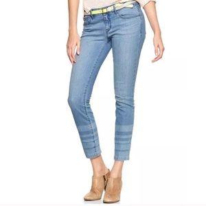 Gap 1969 Always Skinny Jeans Lunda Wash sz 25